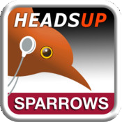 birdJam HeadsUp Sparrows