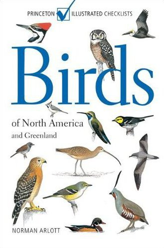 cover of Birds of North America and Greenland, by Norman Arlott