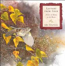 cover of Letters From Eden: A Year at Home, in the Woods, by Julie Zickefoose