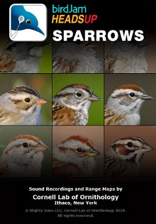 birdJam HeadsUp Sparrows iPhone app