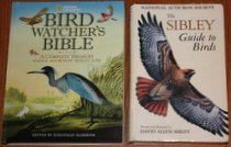 comparison front view of National Geographic Bird-watcher's Bible: A Complete Treasury