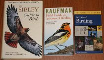 comparison front view of Kaufman Field Guide to Advanced Birding