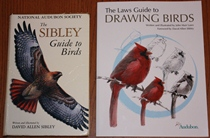 comparison front view of The Laws Guide to Drawing Birds