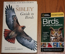comparison front view of National Geographic Pocket Guide to the Birds of North America