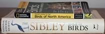 comparison side view of National Geographic Pocket Guide to the Birds of North America