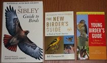comparison front view of The New Birder's Guide to Birds of North America / The Young Birder's Guide to Birds of North America