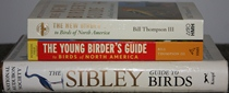 comparison side view of The New Birder's Guide to Birds of North America / The Young Birder's Guide to Birds of North America