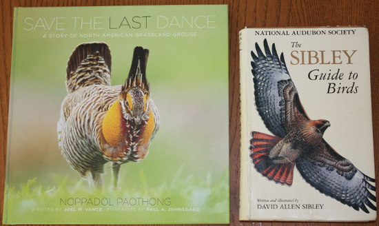 Size comparison of Save the Last Dance: A Story of North American Grassland Grouse