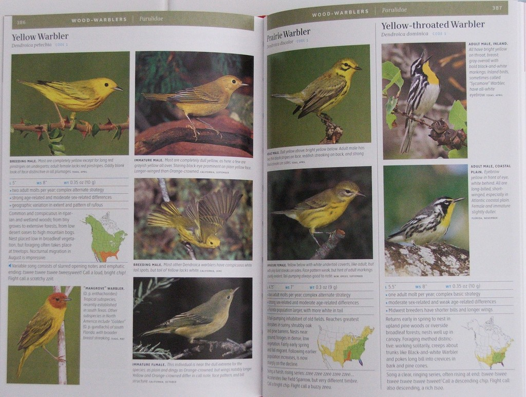 Sample Pages From The Smithsonian Field Guide To Birds Of North America