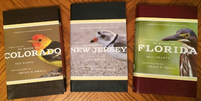 American Birding Association State Field Guides: Colorado, New Jersey, Florida