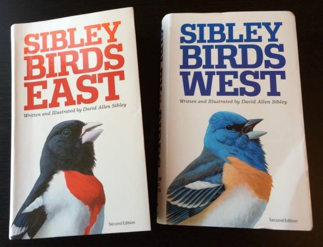 Sibley Eastern and Western regional guides, 2nd editions