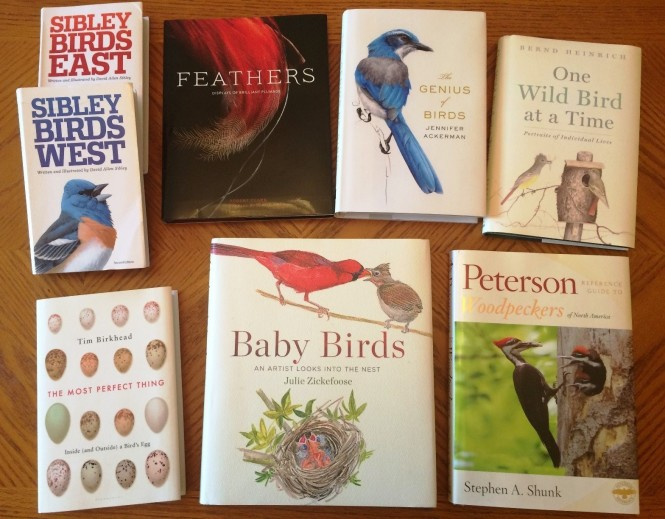 April 2016 bird books