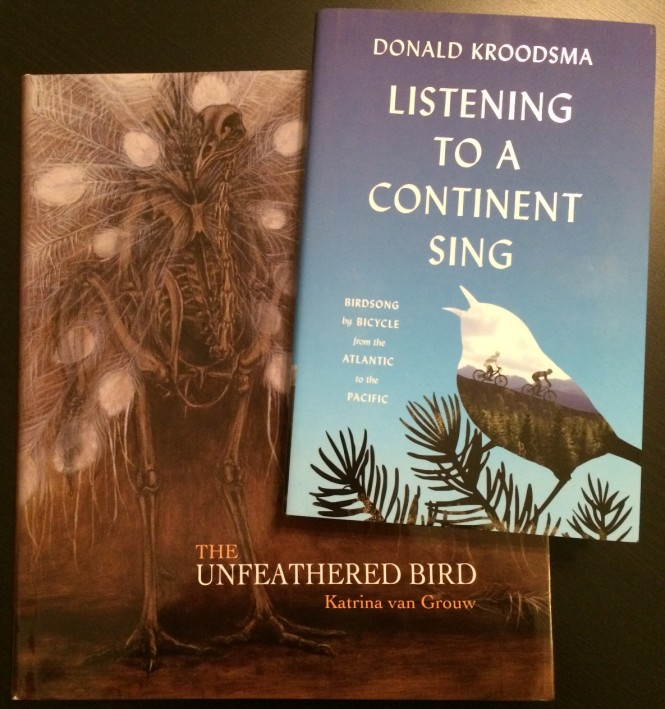 Anniversary Giveaway: Listening to a Continent Sing and The Unfeathered Bird