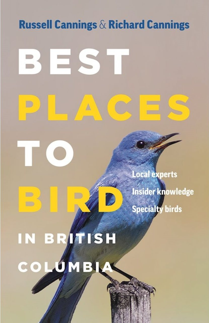 New Book: Best Places to Bird in British Columbia